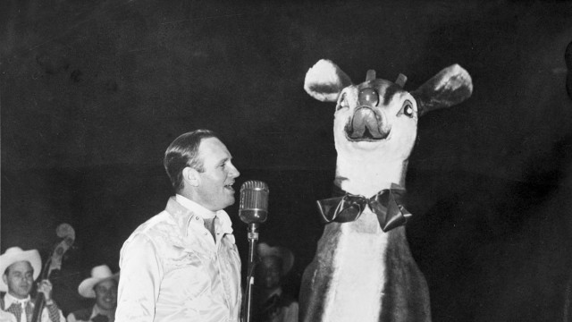 Gene Autry and Rudolph the Red-Nosed Reindeer
