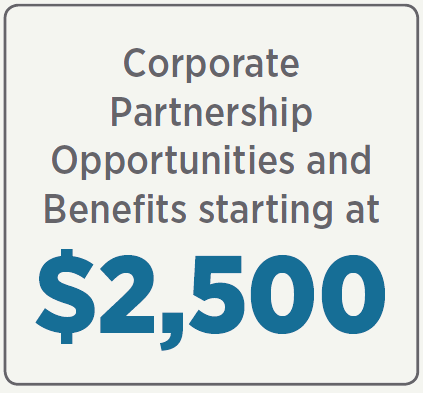 Corporate Memberships available starting at $2,500